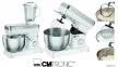 Кухонный комбайн тестомес CLATRONIC 1200W (Германия) 3