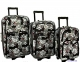 Чемодан-сумка Rogal Travel (большой) с рисунком 3