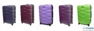 Средний чемодан пластиковый Fly Evolution (Польша) 1