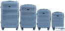 Средний чемодан Wings 203 на 4 колесах 1