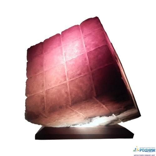 Соляная лампа Куб 9-10 кг (Украина)