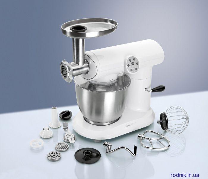 Мощный кухонный комбайн Clatronic KM 3414 (тестомес)