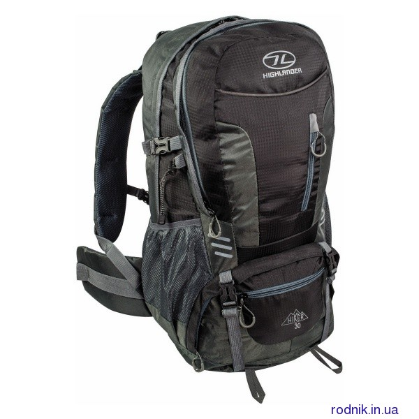 Рюкзак туристический Highlander Hiker 30 Black (Шотландия)