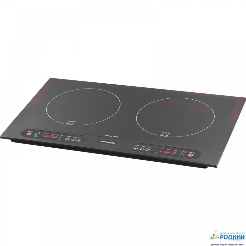 Индукционная плита STEBA на 2 конфорки 3100 Вт