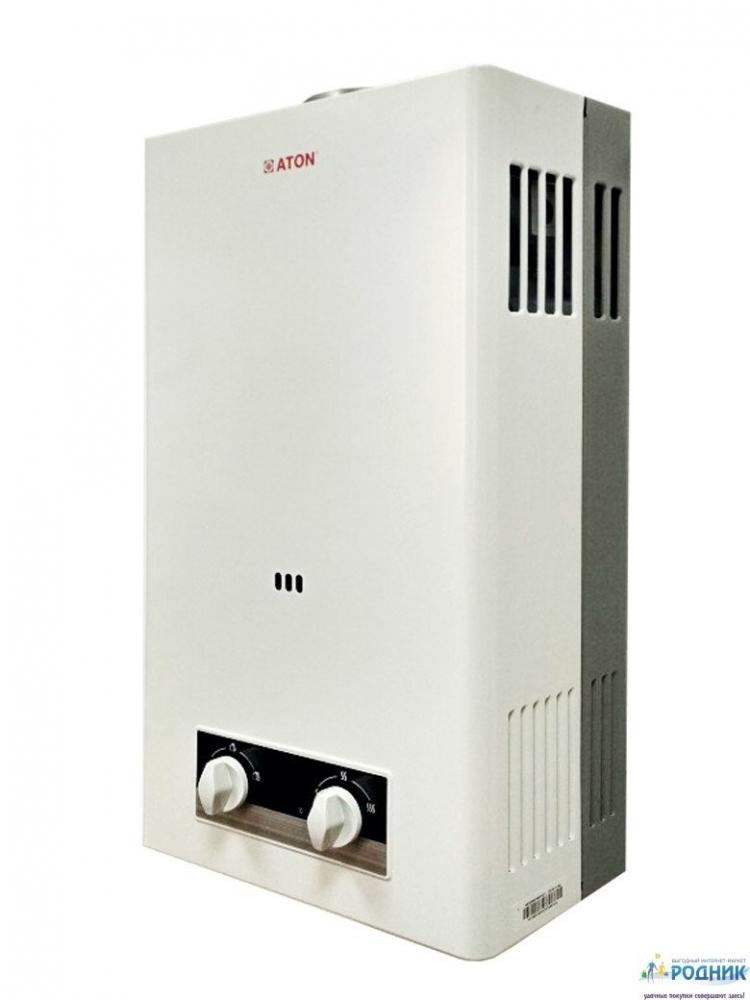 Проточный газовый водонагреватель ATON ВПГ 20 турбо