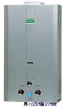 Газовый водонагреватель Termaxi 10 л/мин серебро