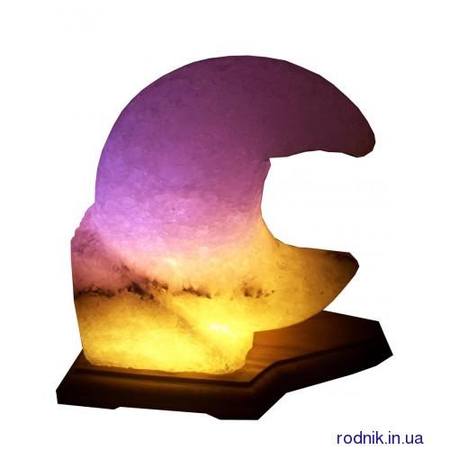 Соляная лампа Месяц 3-4 кг (Украина)