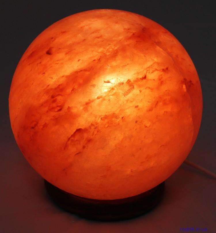 Соляная лампа Шар 6-7 кг (Украина)