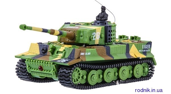 Танк Great Wall Toys Tiger со звуком GWT2117