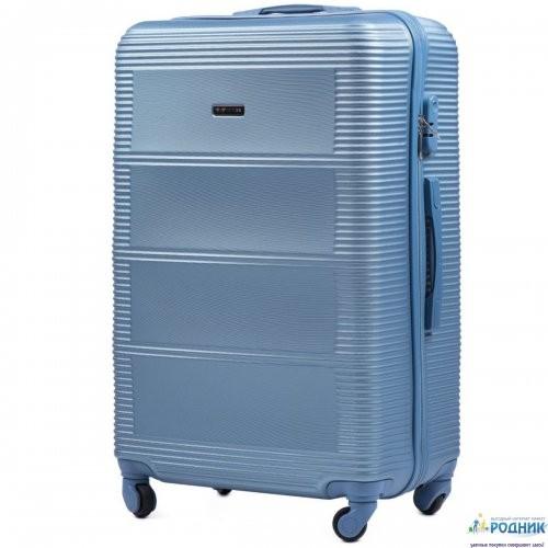 Средний чемодан Wings 203 на 4 колесах