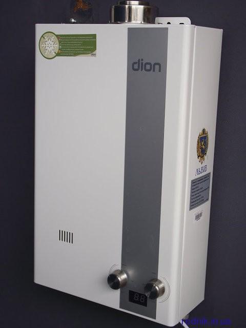 Турбированная газовая колонка DION 10 литров/минуту