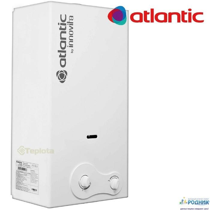 Газовая колонка пьезо Atlantic MAX 22 кВт + подарок