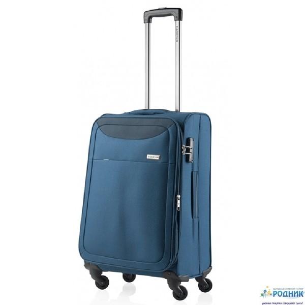 Чемодан CarryOn AIR Steel Blue (средний 84 L)