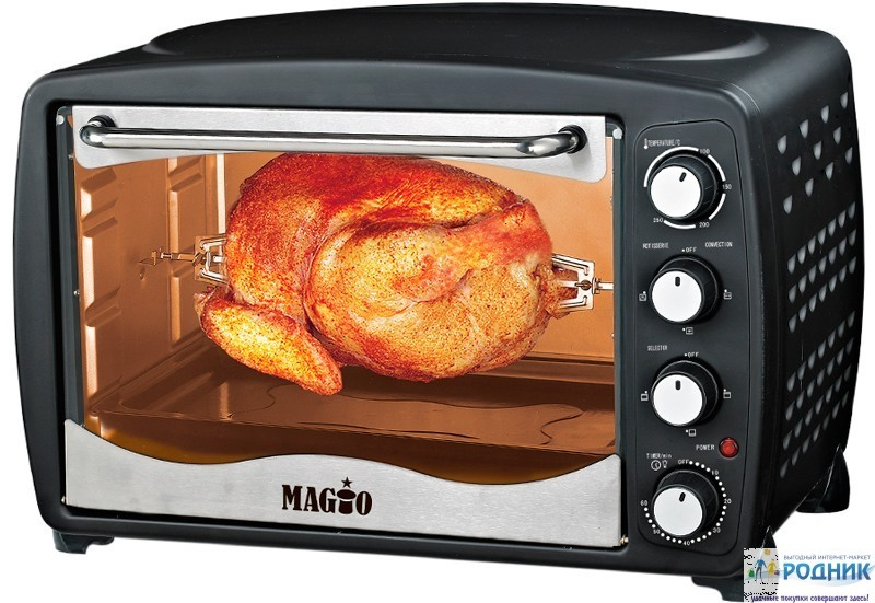 Электрическая печь Magio МG-251 BL