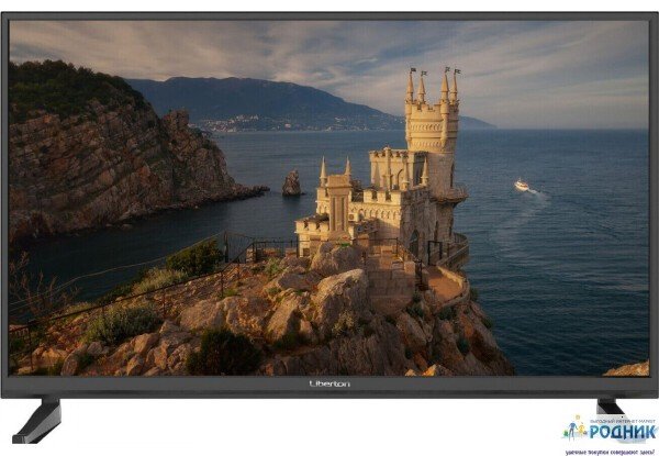 Телевизор Smart LIBERTON 40 дюймов (FullHD, T2 тюнер)