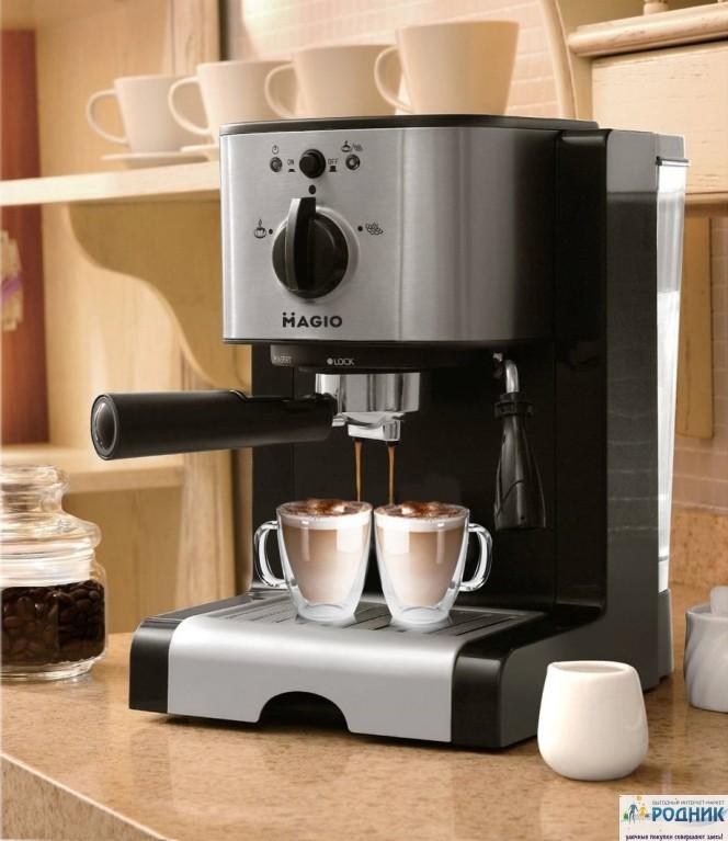 Мощная кофеварка «Espresso/Сappuccino» Magio TNK