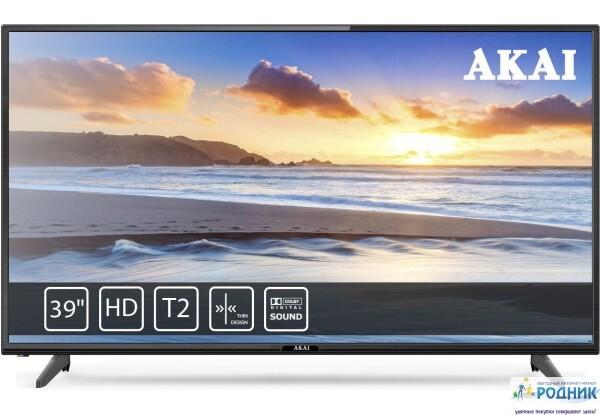 Телевизор 39 дюймов AKAI с тюнером Т2