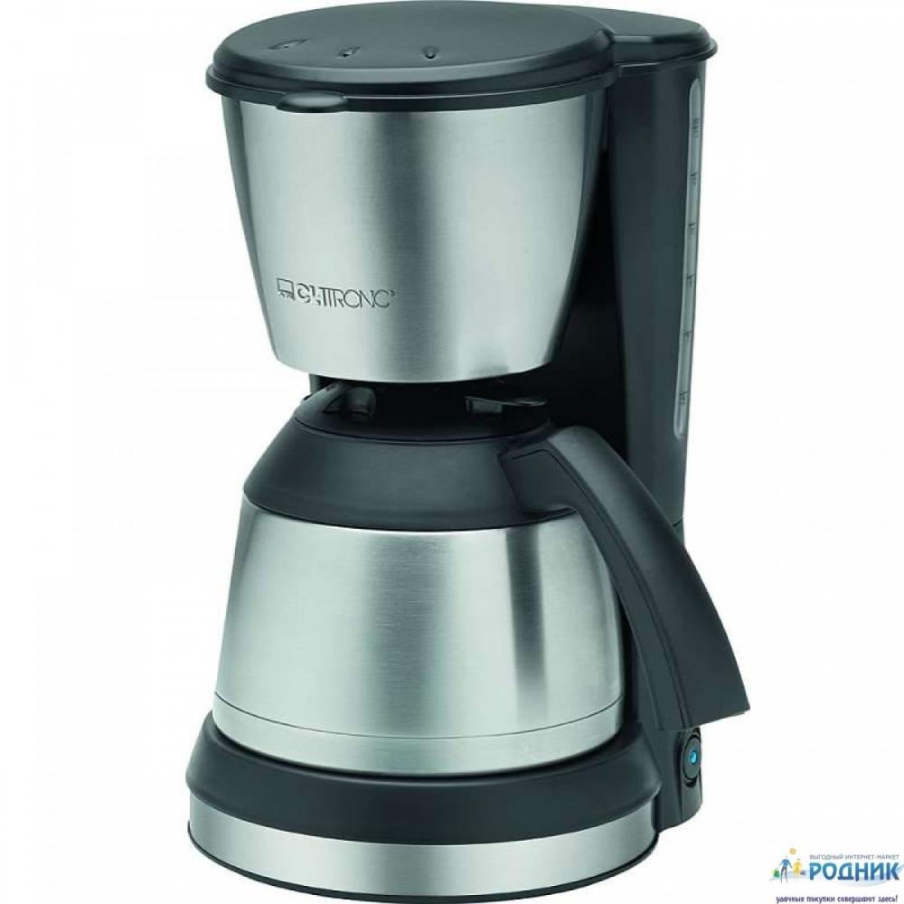 Кофеварка в металле Clatronic 800W (Германия)