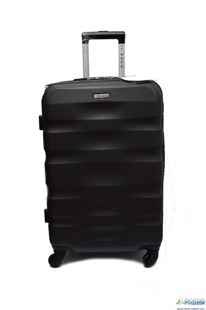 Средний чемодан пластиковый Fly Evolution (Польша)