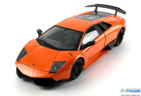 Машинка р/у Meizhi Lamborghini LP670-4 SV (метал)