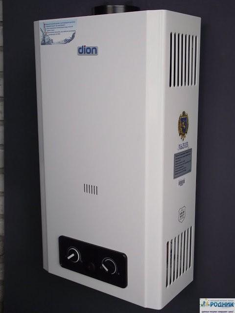 Газовая колонка DION 12 литров/минуту