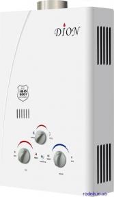 Дымоходная газовая колонка DION JSD 06