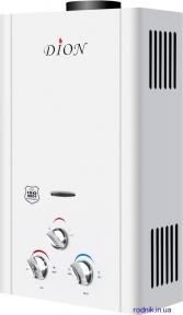 Дымоходная газовая колонка DION JSD 10