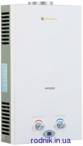 Газовая колонка Savanna 10л LCD белая GK