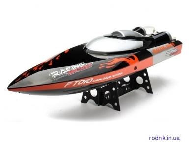 Катер на р/у  Fei Lun Racing Boat 65см (черный) FL-FT010b