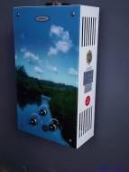 Дымоходная газовая колонка DION 10 LCD (с рисунком)