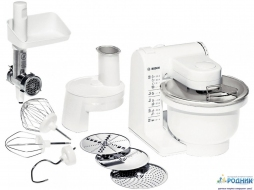 Кухонный комбайн с мясорубкой Bosch 500W