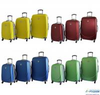 Набор пластиковых чемоданов Safety Smile 3 в 1