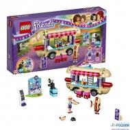 Конструктор LEGO Friends Парк развлечений: фургон с хот-догами (41129)