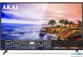 Телевизор 43 дюйма AKAI Smart