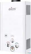 Дымоходная газовая колонка DION JSD 08 LCD